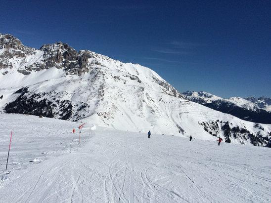 Obereggen - Pampeago - Predazzo - Piste ottime fino alle 15! Giornata stupenda   - © iPhone