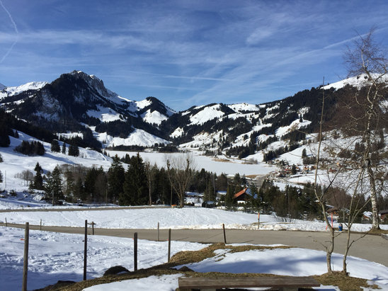 Schwarzsee - Firsthand Ski Report - ©iPhone