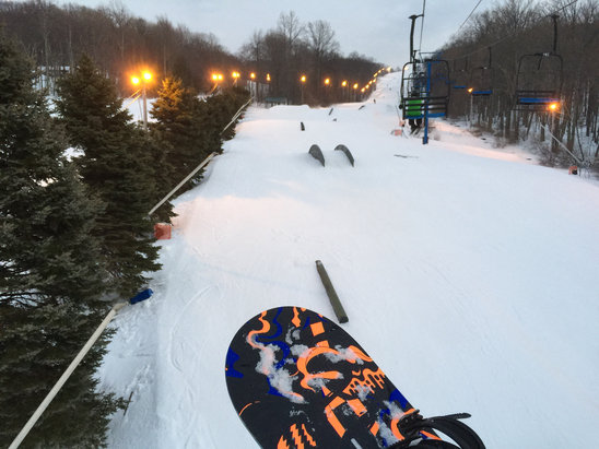 Shawnee Mountain Ski Area - IIIIICCCCCCCYYYYYYY!!!!!!
