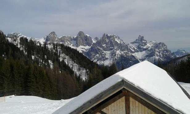 San Martino di Castrozza - Passo Rolle - neve perfetta  e paesaggio come sempre incantevole - © daansuini