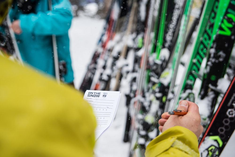 Skier, juger, noter et recommencer... - © Liam Doran