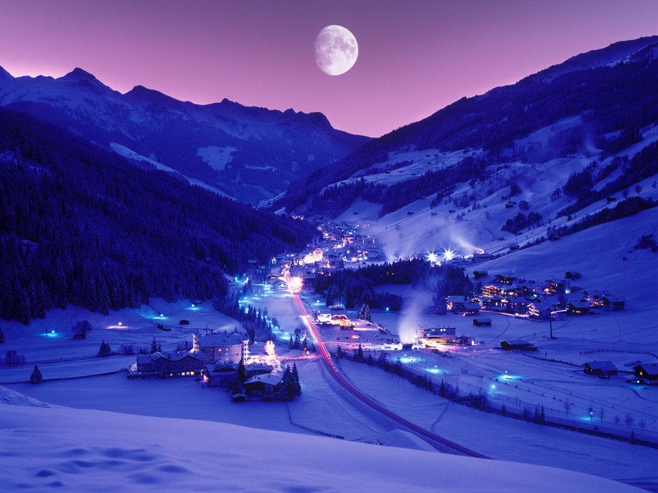 Gerlos v noci - © Zillertal Arena