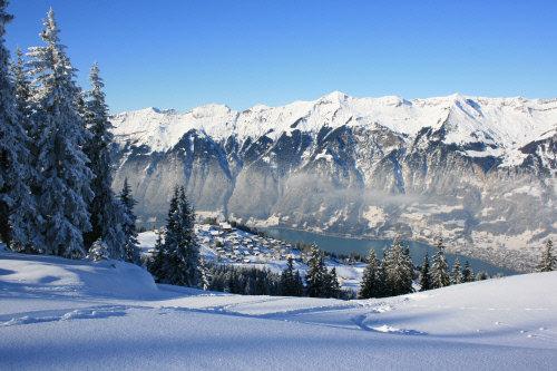 Brienz - Aussicht von der Axalp - © Interlaken Tourismus - swiss-image.ch/Rolf Wellenreiter
