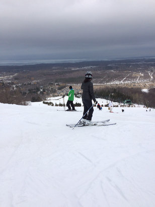 Blue Mountain - Beautiful out there!  - © Snow