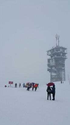 Engelberg - Snowing up there.  Good to have some new snows!  - ©rpatrick1980