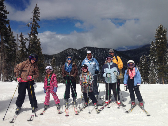 Angel Fire Resort - We had an amazing week!  Best spring skiing ever!  See you next year Angel Fire   - © Rj's phone