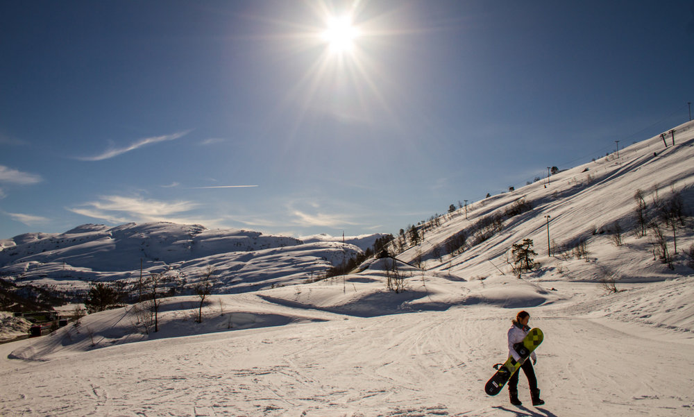 Nydelige forhold og fint vær i Eikedalen! - © Jan Petter Svendal