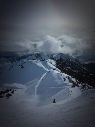 Kicking Horse - Great snow at the top. Stairway all day.  - © iPhone