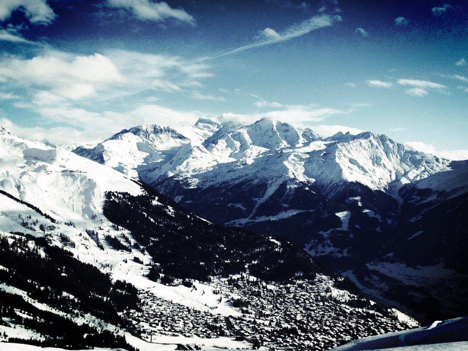 Verbier glänzt mit einzigartiger Schönheit - © Skigebiet Verbier