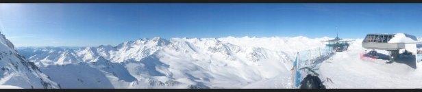 Obergurgl-Hochgurgl - Traumhaftes Wetter bei besten Pistenverhältnissen! Kaum Wartezeiten an den liften. - © seplmajor