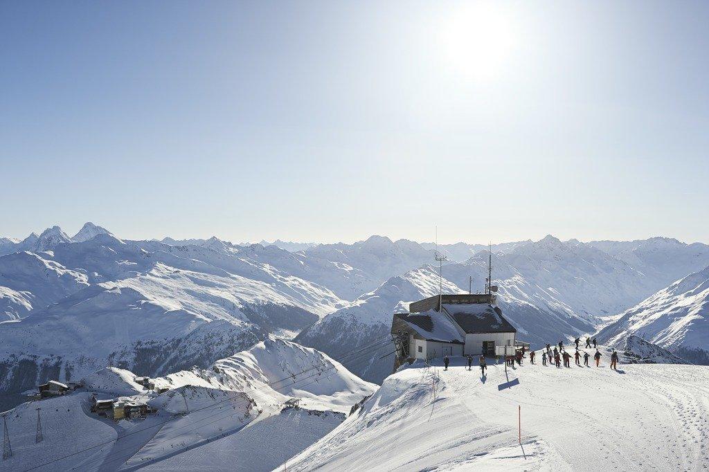 Auf dem Weissfluhgipfel - © © Destination Davos Klosters