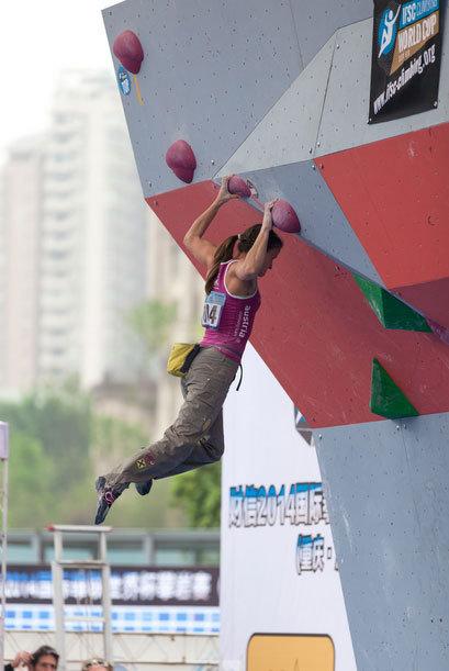 """Anna Stöhr wurde beim Weltcup-Auftakt in China """"nur"""" Fünfte - © Heiko Wilhelm"""