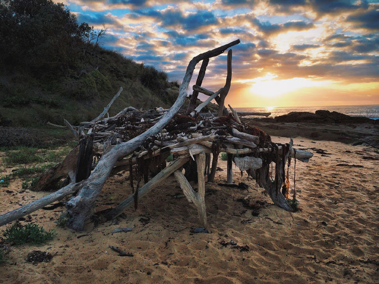 Middle Beach Tanja | New South Wales - © Florian Reuter | Julia Mohr