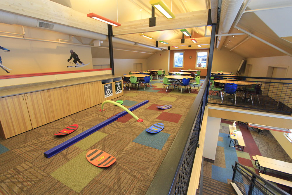 The play area in the new Kids Center at Arapahoe Basin. - © Bill Linfield/Arapahoe Basin