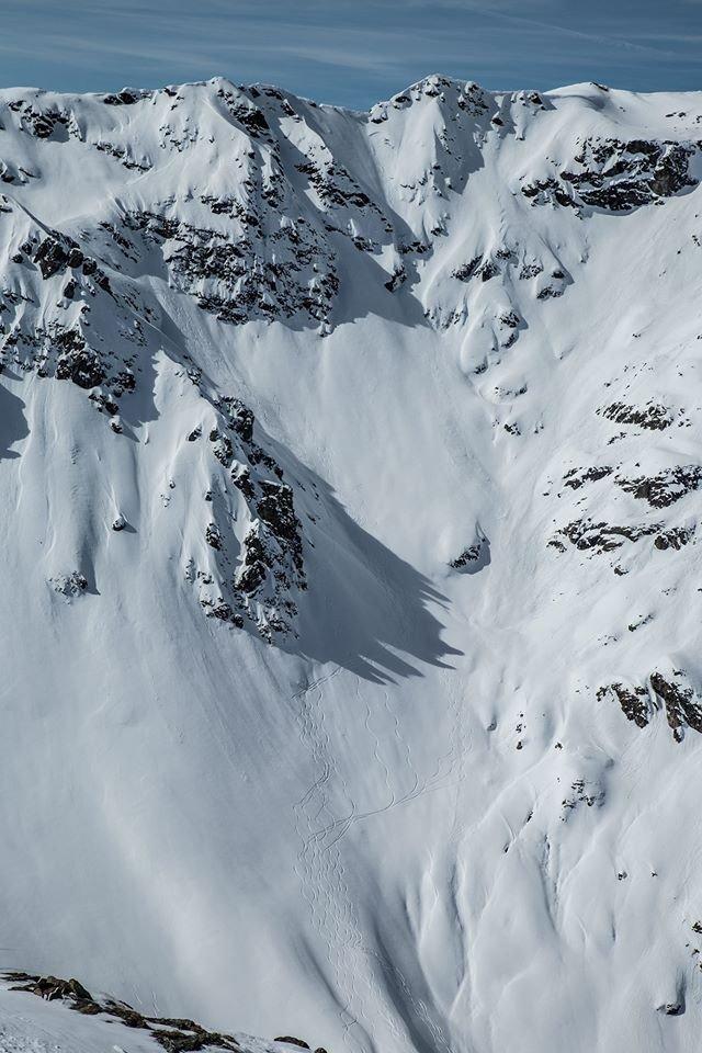 Beeindruckende Hänge in Silvretta Montafon