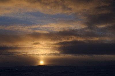 Sonnenuntergang - © Hülle