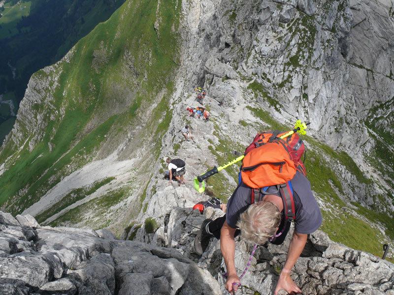 Klettersteig Bad Hindelang : Hindelanger klettersteig allgäu nebelhorn zum wengenkopf