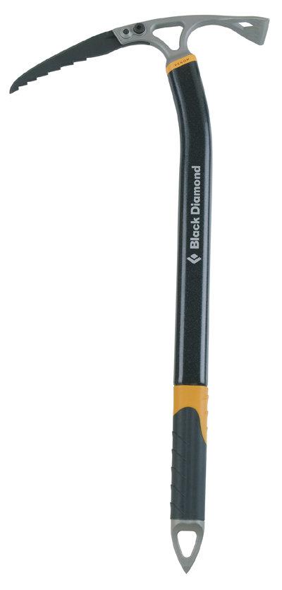 Ein Eispickel, der auch in steilem Eis beißt und hält - © www.blackdiamondequipment.com