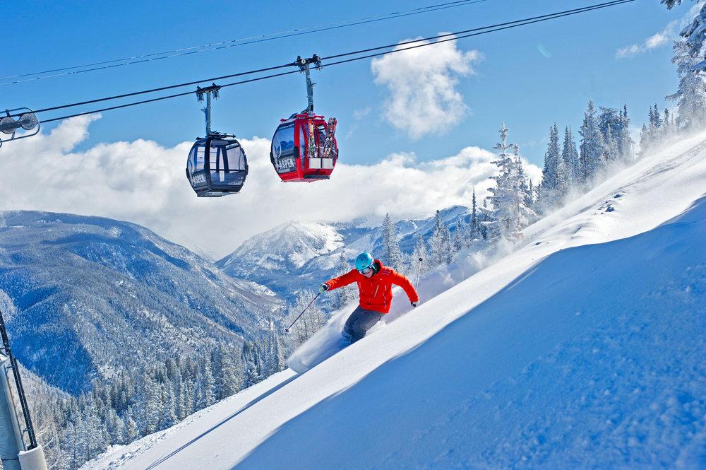 Skispaß in Aspen - © Odette Landmeier