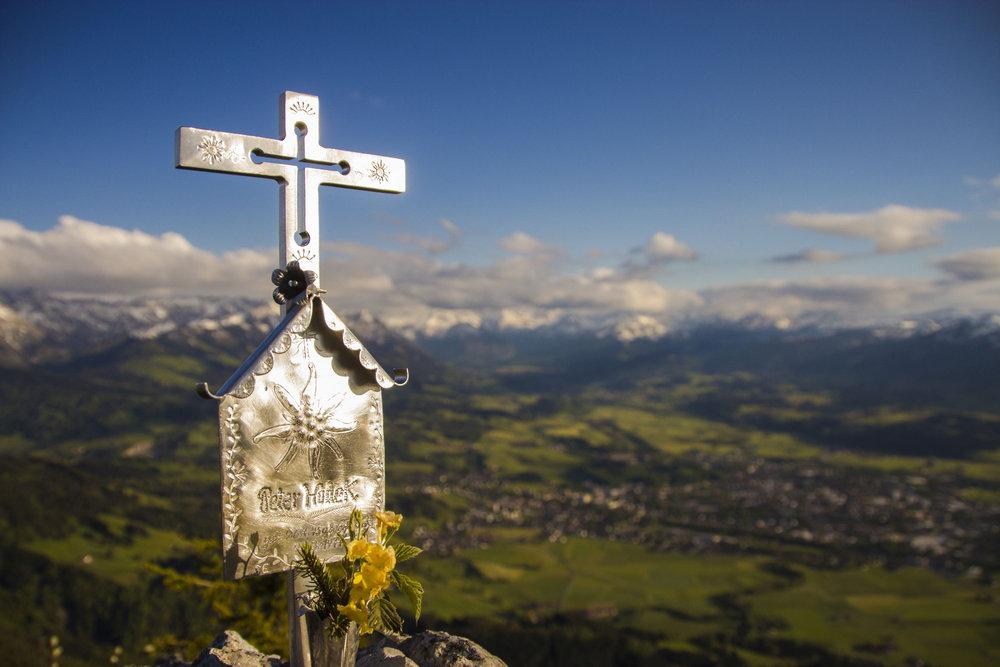 Gipfel Burgberger Hörnle - © Frieda Knorke
