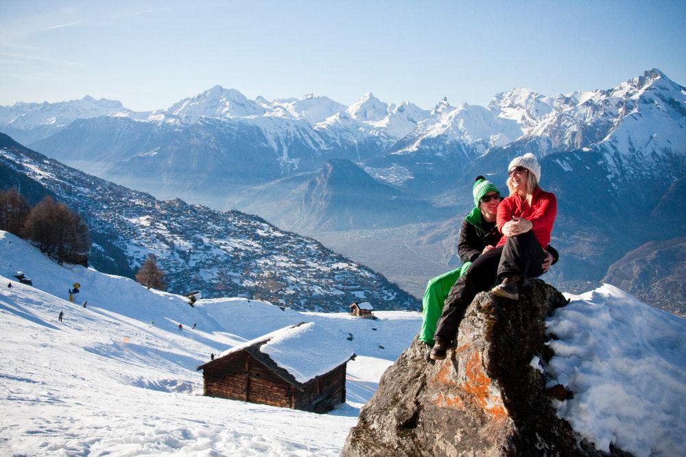 Dépaysement garanti lors de votre séjour à Veysonnaz - © lafouinographe.com