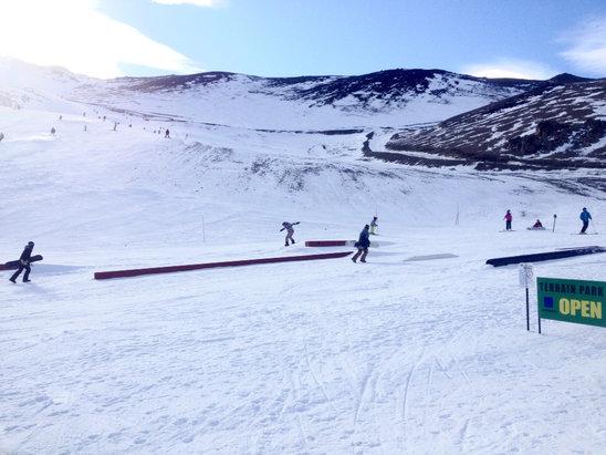 Mt. Hutt Ski Area - Oohh yea!  - © Juan Jo