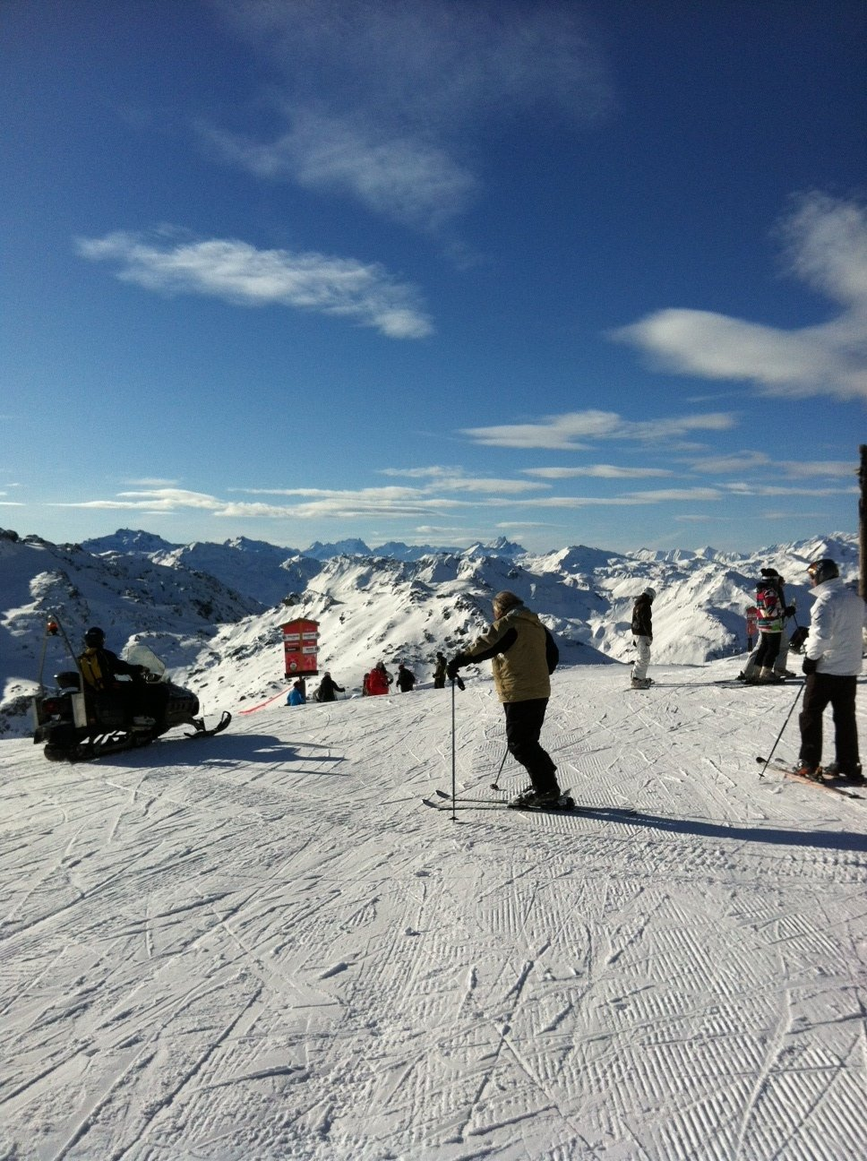 View from Saulire - ©sjtasker @ Skiinfo Lounge
