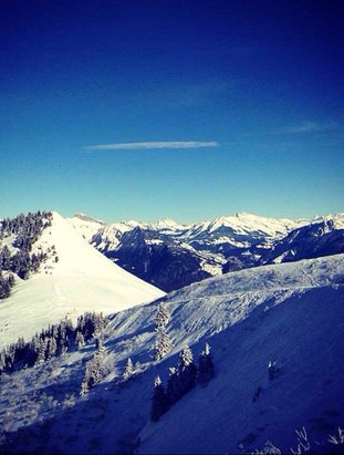 Torgon - Firsthand Ski Report - ©Stephen's iPhone