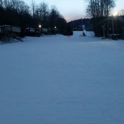 Sugar Mountain Resort - first night ski of the season last night not bad for November there were a few icy spots but majority of the slope was descent  - © jared61990