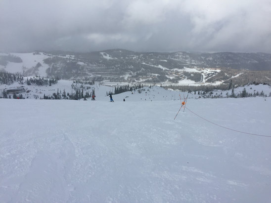 Brian Head Resort - Had alot more runs open with thin coverage sticks - © bens iphone