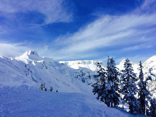 Mt. Baker - Beautiful day at Baker!  - © katy day's iPhone5