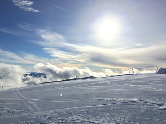 Bogus Basin - Beautiful day!! - © iPhone