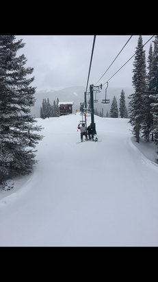 Purgatory - Awesome day!! Tons of powder!!!  - ©Adam's 6+ iPhone