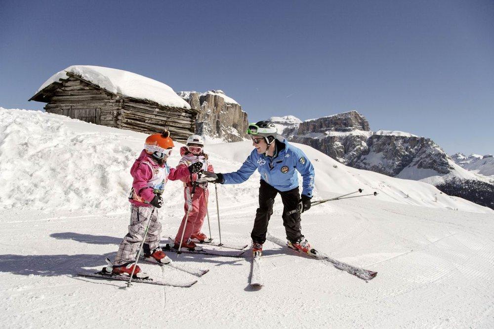 Skvělá zimní zábava pro celou rodinu ve Val di Fassa - © Riccardo Agosti