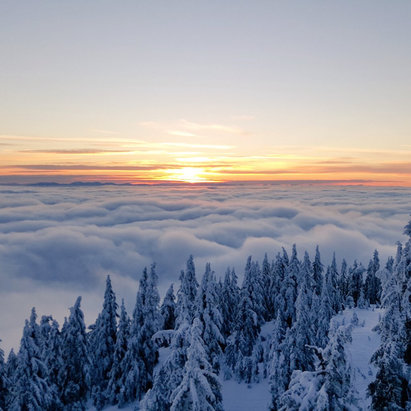 Cypress Mountain - Firsthand Ski Report - ©Ben's iPhone