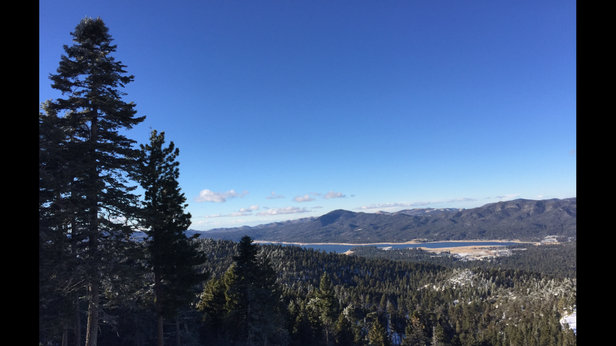 Bear Mountain - Beautiful Christmas Day at big bear. Awesome place and the staff is great.  - © Blake Bailey's iPhone