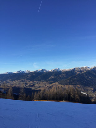 Maiskogel - Kaprun - Great weather but only one slope is open. - © iPhone (Kateryna)