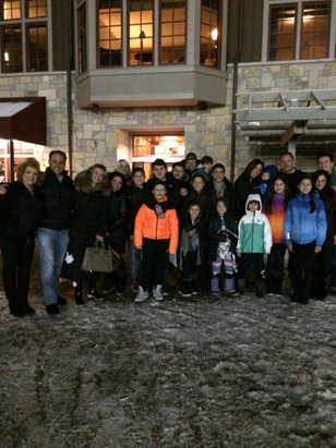 Crystal Mountain - Clinton Township crew excited for Happy New Year and fun weekend at Crystal Mountain - © Maria's iPad (2)