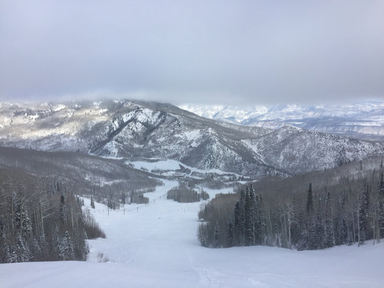 Sunlight Mountain Resort - Great conditions on the mountain, just a bit cold!!!! - © Sean's iPhone