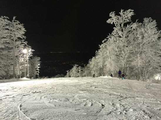 Ski Bromont - Most runs open in Eastern townships. Good conditions well run.  - ©Mat iPhone 6 plus