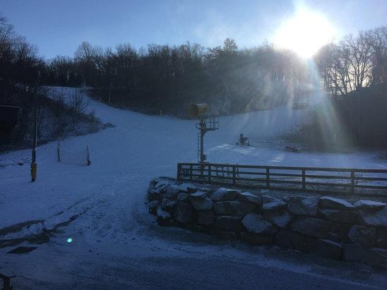 Shawnee Mountain Ski Area - Soon..... - © Kevin Edwards's iPhone