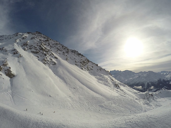 Verbier - Finally some new snow! 