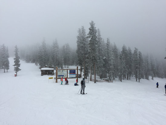 Angel Fire Resort - Great powder today! - © Jennifer's iPhone