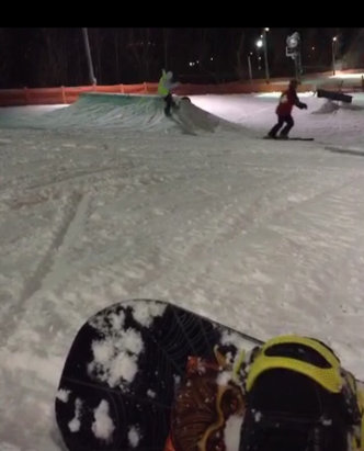 Four Lakes - Terrain park is open but check website daily. Rain in forecast - © marty's iPhone