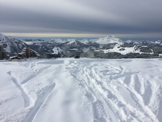 Avoriaz - Tons of snow at Avoriaz. Just had a fantastic week there. Bit rainy today Sat 9th though.  - ©Firefly