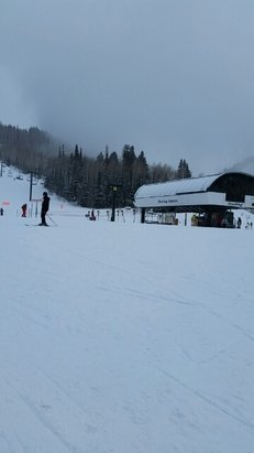 Deer Valley Resort - Snowing at Sterling Express!  - © paula.tolly