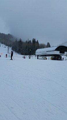 Deer Valley Resort - Snowing at Sterling Express!  - © paula.tolly