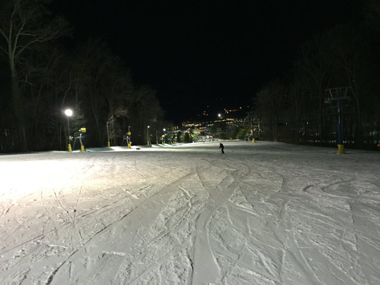 Liberty - Thursday night skiing/boarding. Conditions were excellent for not having any natural snow.  - © PJ Work iPhone (2)