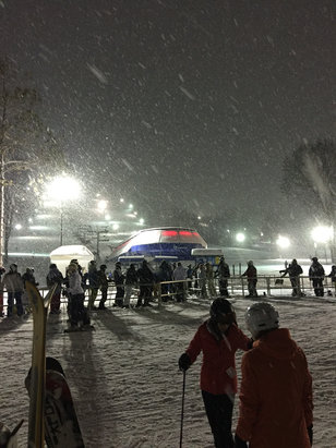 Boyne Mountain Resort - What a beautiful night skiing at the Mountain. 