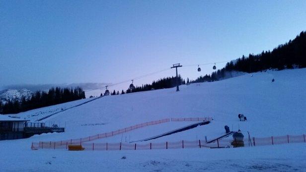 Nassfeld Hermagor - Ein schöner Skitag geht zu Ende  - © ws.2345.ws